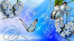 Blue-Flowers 1